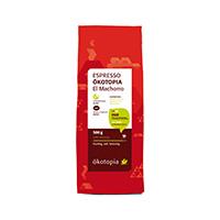 ökotopia GmbH Espresso, ganze Bohne, 500 g