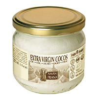 Amanprana Cocos extra virgin Fair Trade, 325 ml