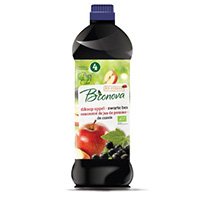 Bionova Apfelsaftkonzentrat mit schw. Johannisbeere