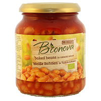 Bionova Weisse Bohnen in Tomatensauce