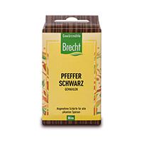 Brecht Pfeffer schwarz, gemahlen Nachfüllpack