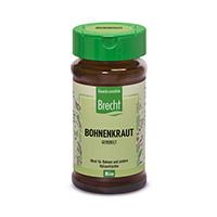 Brecht Bohnenkraut, gerebelt im Glas