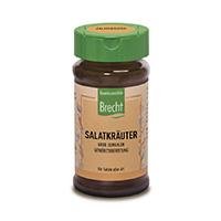 Brecht Salatkräuter, grob gemahlen konv. im Glas