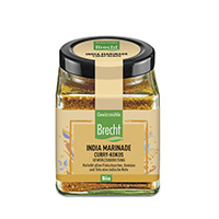 Brecht India Marinade Curry-Kokos im Quadratglas