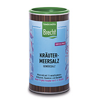 Brecht Kräuter Meersalz in der Nachfülldose