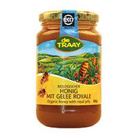 de Traay Honig mit Gelee Royale bio, 450 g