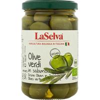 La Selva Grüne Oliven in Salzlake