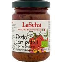 La Selva Pesto mit Chili und Blüten