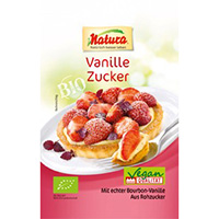 Naturawerk Bio Vanille-Zucker mit Rohzucker