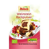 Naturawerk Bio Weinstein-Backpulver, 3 x 18 g