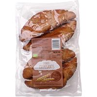 Nur Puur Dinkel Croissant bio, 4 Stück