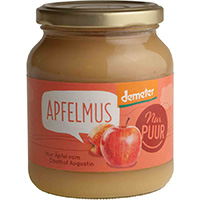 Nur Puur Apfelmus demeter, 360 g