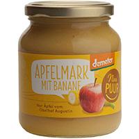 Nur Puur Apfelmark mit Banane demeter, 360 g