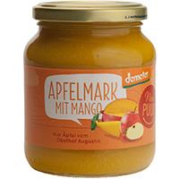 Nur Puur Apfelmark mit Mango demeter, 360 g