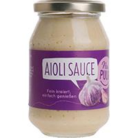 Nur Puur Aioli Sauce bio, 250 ml