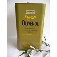 Vita Verde Olivenöl, fein fruchtig - Grosspackung