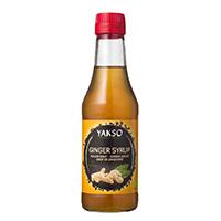 YAKSO Ingwer Sirup, 250 ml