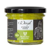 Ölmühle Solling Kokoswürzöl Curry bio