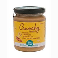 Terrasana Erdnussmus crunchy – 250 g
