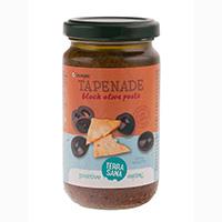 Terrasana Tapenade – Schwarze Olivenpaste