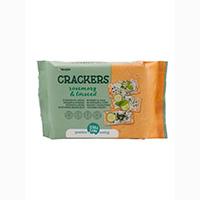 Terrasana Cracker mit Rosmarin und Leinsamen