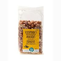 Terrasana Erdnüsse mit Vlies, geröstet und gesalzen