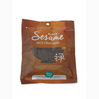Terrasana Black Sesame Rice Crackers