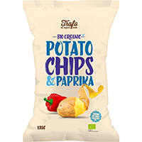 Trafo Chips Paprika, 125 g