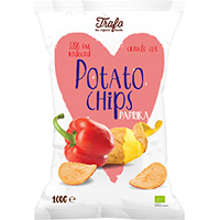 """Trafo Chips """"Light"""" Paprika"""