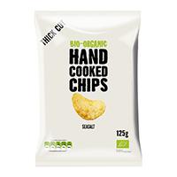 Trafo Handcooked Chips Meersalz, 125 g
