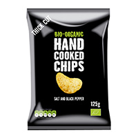 Trafo Handcooked Chips Meersalz & Pfeffer, 125 g