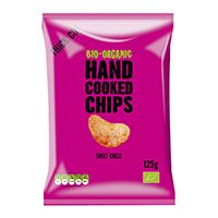 Trafo Handcooked Chips Sweet Chili, 125 g