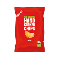 Trafo Handcooked Chips Paprika, 125 g