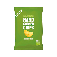 Trafo Handcooked Chips Sourcream & Onion, 125 g