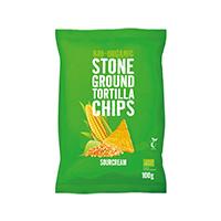 Trafo Stone Ground Tortilla Chips Sourcream